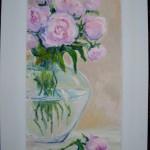 Pastelowe róże Adam Janiec